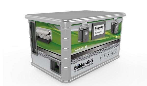 Германская Buhler-AHS предлагает систему увлажнения воздуха Superior 18