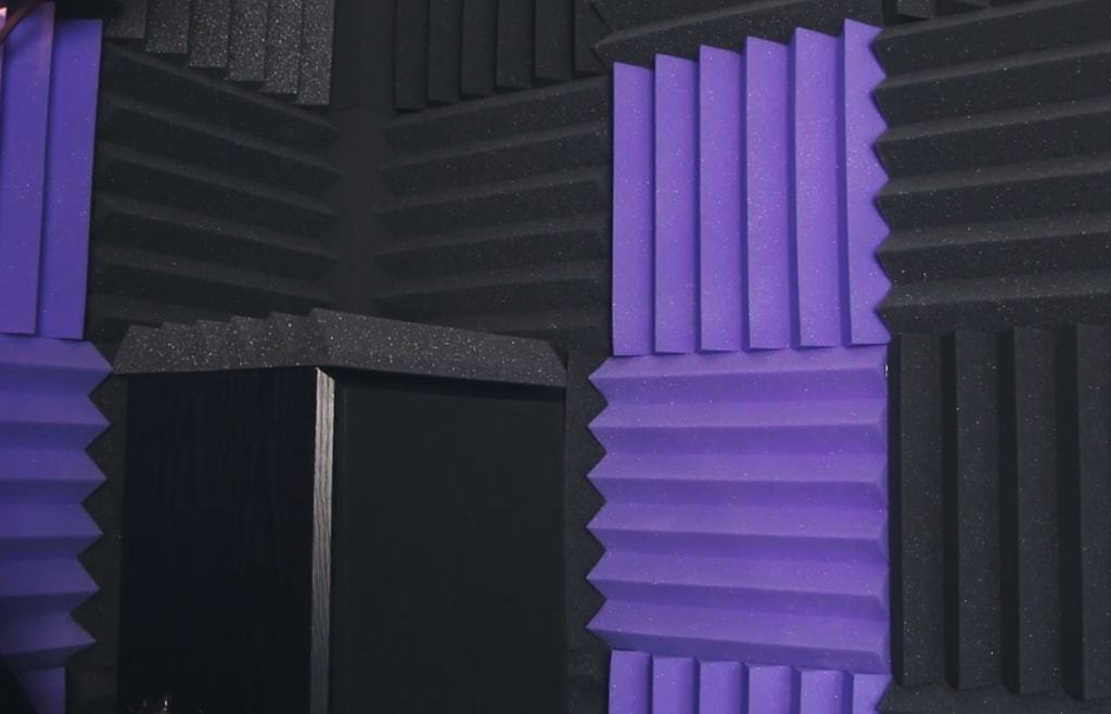 Виды акустического поролона
