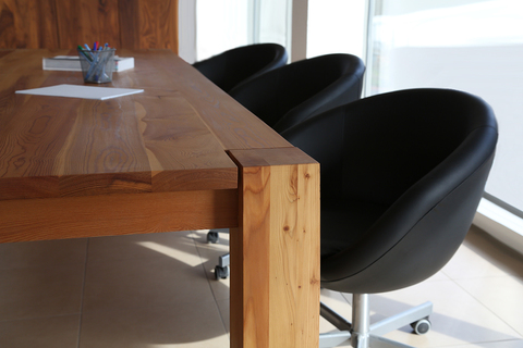 Large Solid-Wood Tables And Desks By TRIF-MEBEL