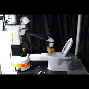 Домашний робот для уборки санузлов