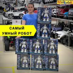Видео интерактивного робота BeBoy ДРОН