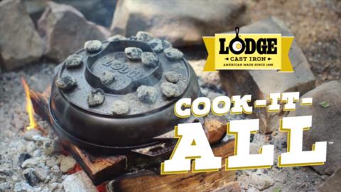 Как использовать чугунную сковороду Lodge Cook-It-All
