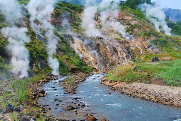 В Камчатском крае – в мире гейзеров и вулканов
