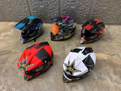Детский шлем  - для квадроцикла и мотокросса