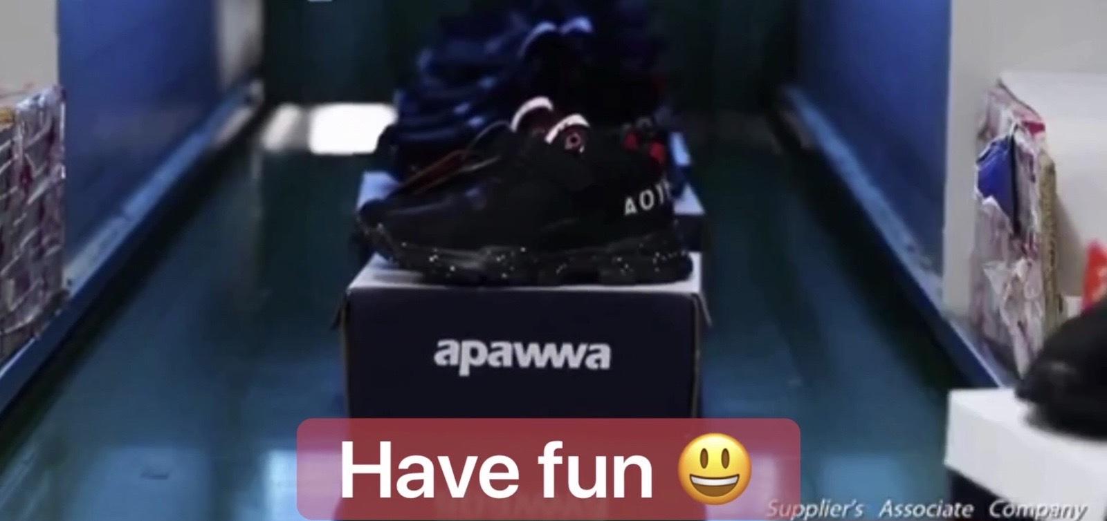 Как Apawwa производит детскую обувь
