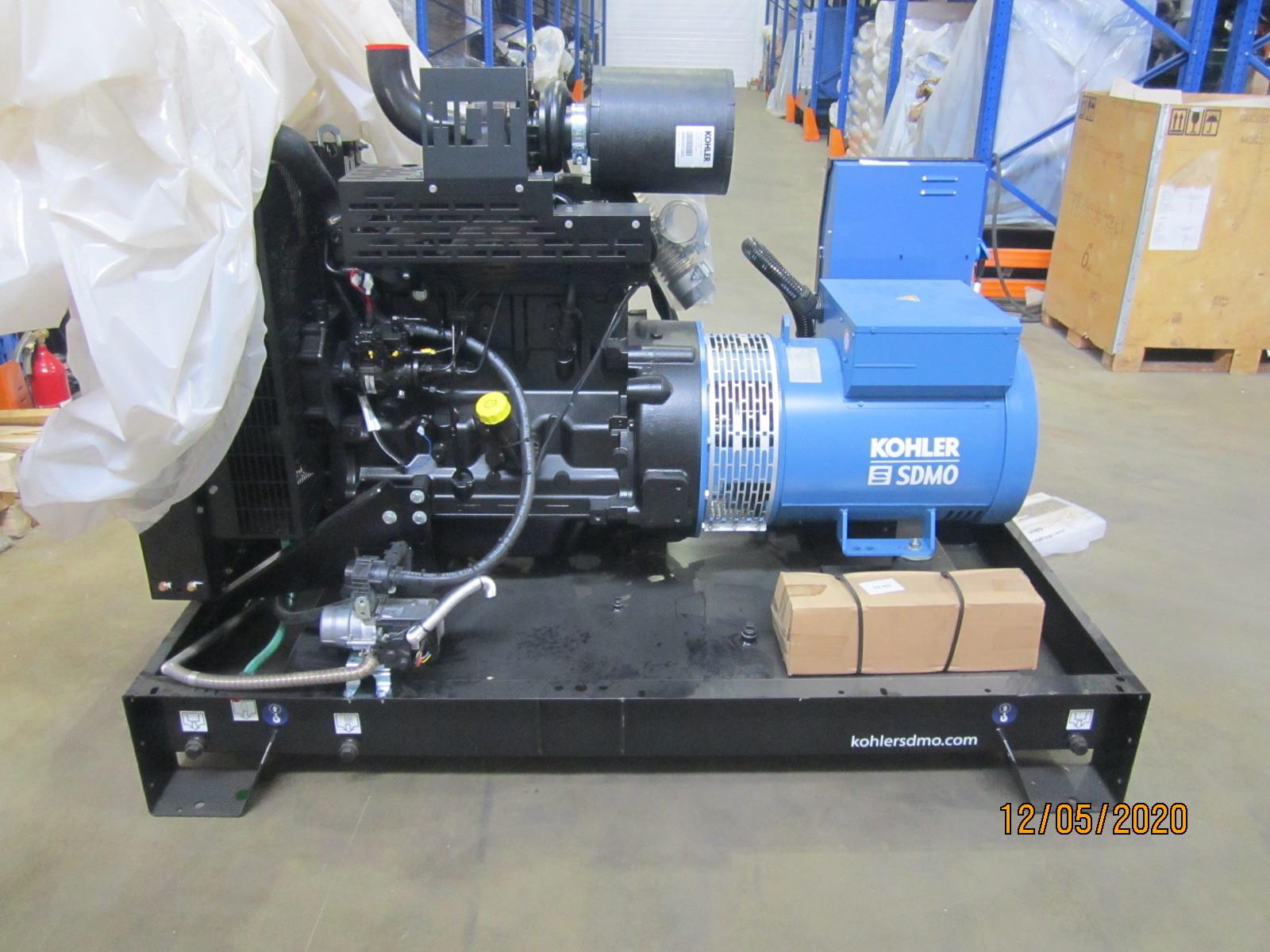 2 ДГУ SDMO J33 и J66, для энергетической компании