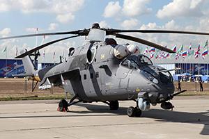 Оборонный комплекс «Витебск» установлен на Ми-35М