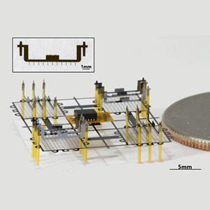 Миниатюрного робота снабдили ионными двигателями