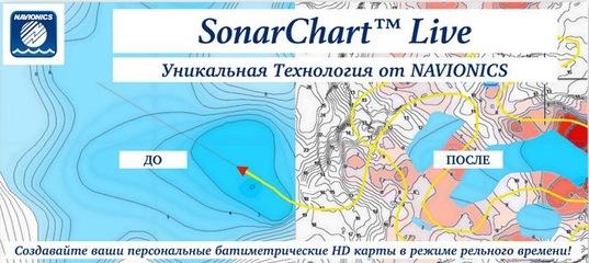 Navionics SonarChart Live без активной подписки!
