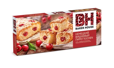 Немецкий вишневый пирог KUCHEN