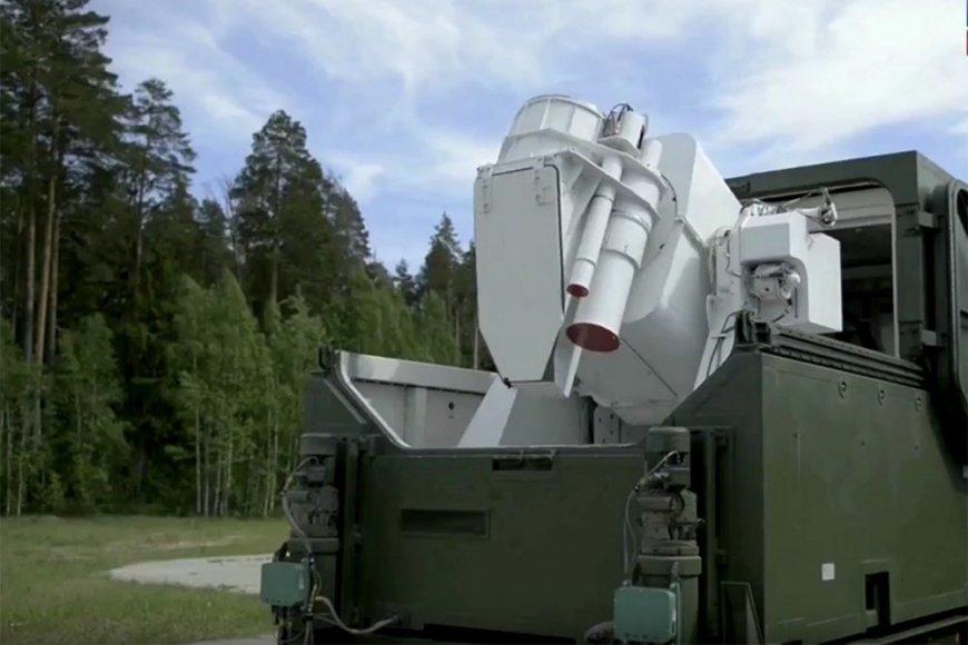 Лазеры «Пересвет» заступили на боевое дежурство