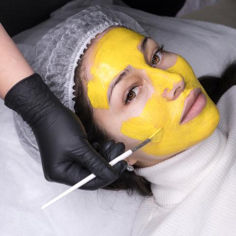 Домашняя косметология - механическая чистка лица и химический поверхностный пилинг