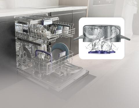 Технологии Beko для сильнозагрязненной посуды