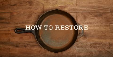 Как восстановить чугунную посуду при появлении ржавчины