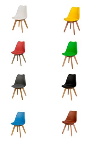 Стул Eames с мягким сиденьем