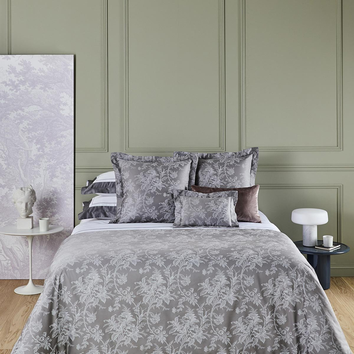 Новая коллекция французского постельного белья Yves Delorme