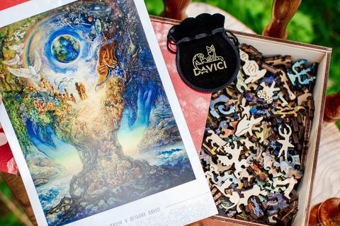 История, Миссия, производство пазлов DAVICI - Деревянные пазлы причудливых форм