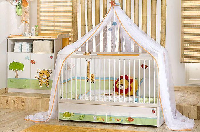 Как выбрать бортики в детскую кроватку