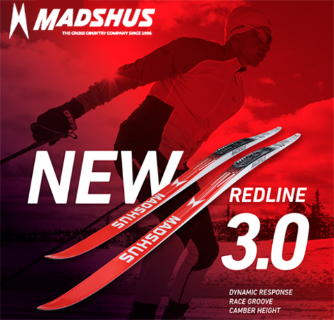 ЗАКРЫТ ПРЕДЗАКАЗ НА ЛЫЖИ MADSHUS REDLINE.3.0 2021/2022