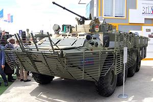 Тепловизор и крепкая броня для БТР-82