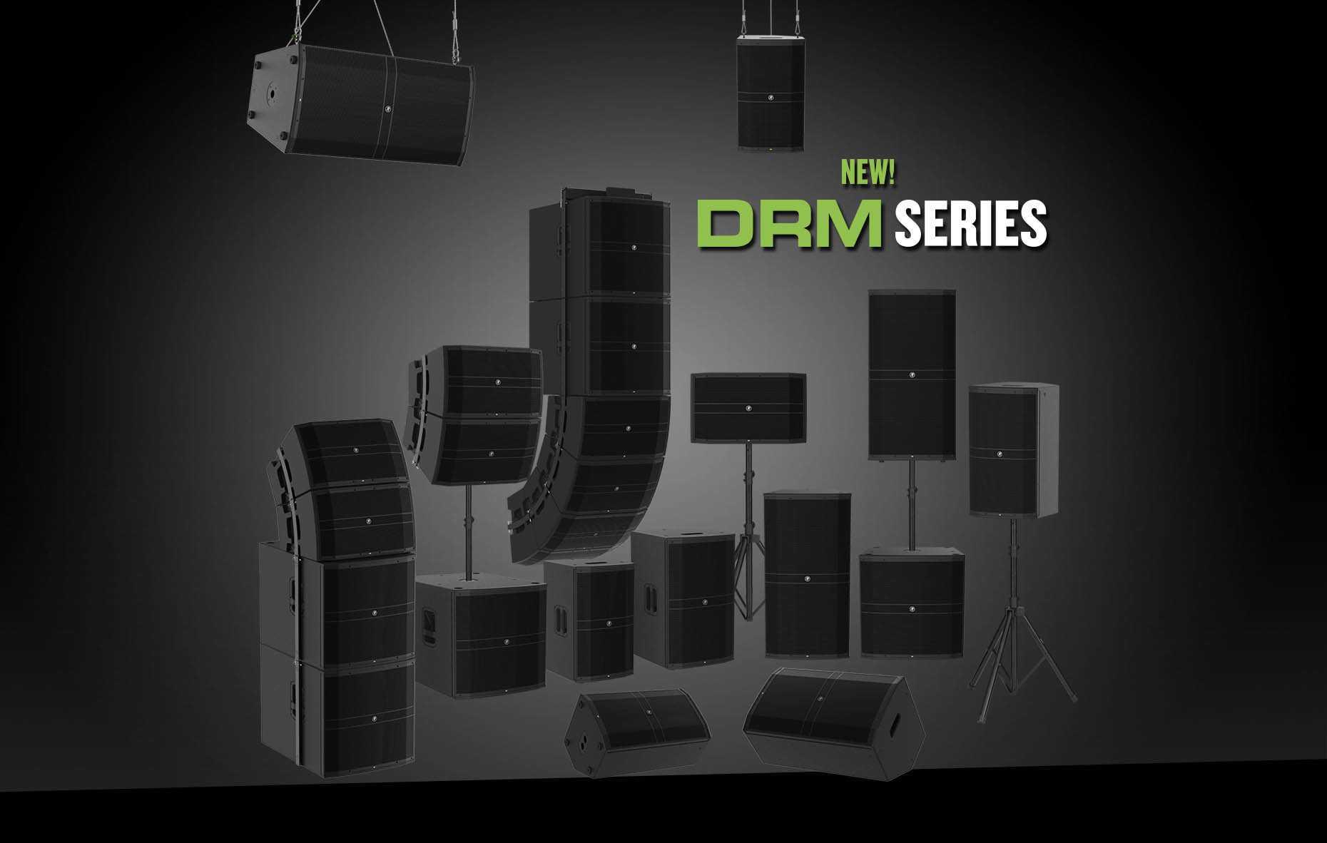 Новая флагманская линейка акустических систем Mackie DRM уже в Украине!