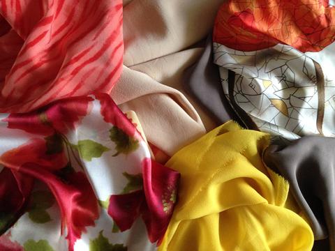 Шёлк-натуральная ткань