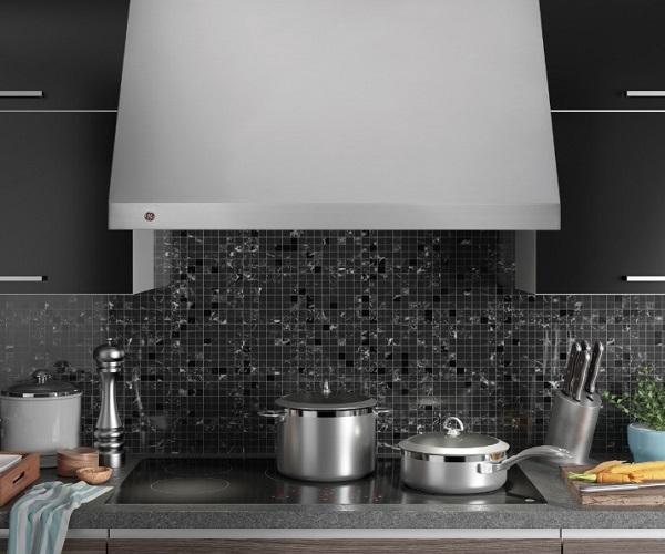 Ge Appliances рекламирует дизайнерский вытяжной зонт