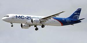 Магистральный самолет поднялся над Иркутском