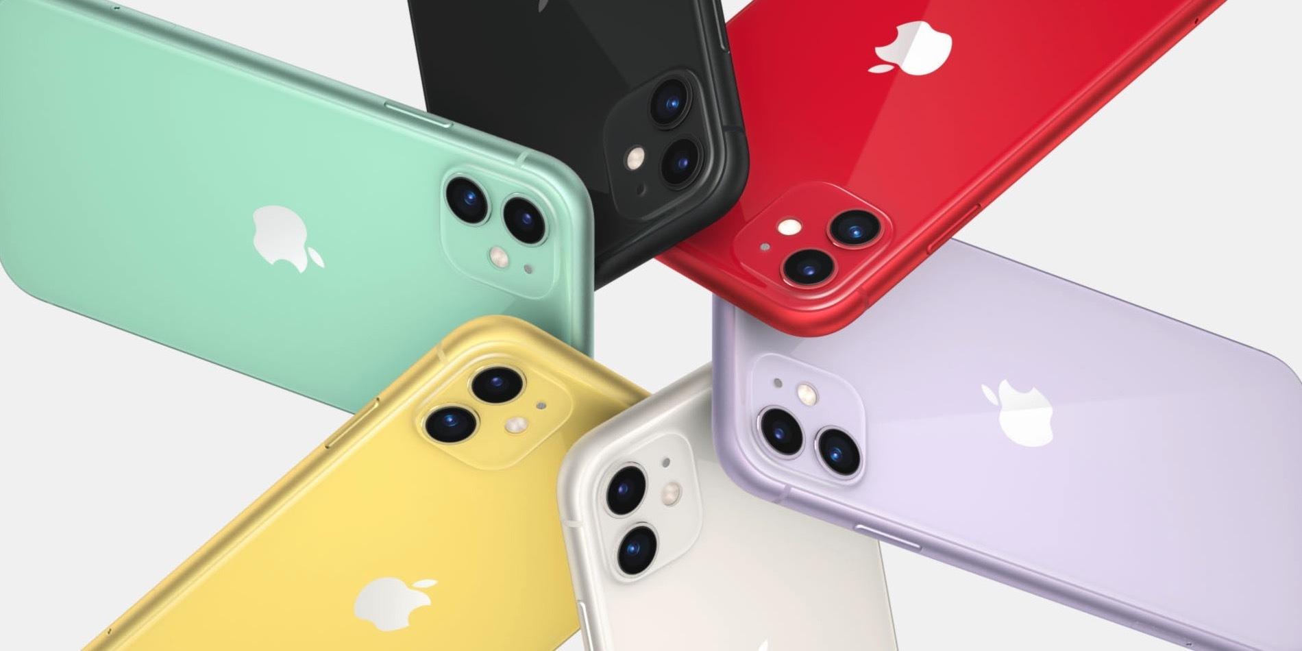Новый iPhone 11 - праздник цвета