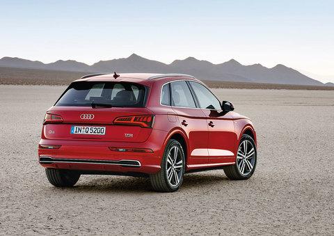 Установка пнемобаллонов BlackStone на Audi Q5