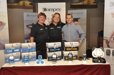 Новые электростимуляторы Compex представили на Compex Meeting в Аннеси