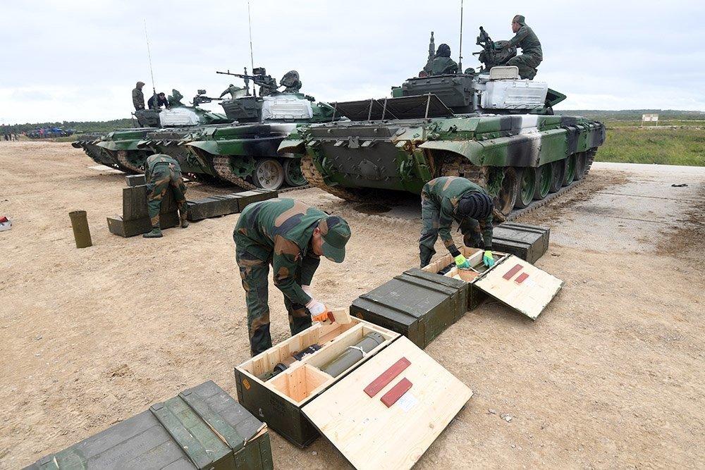 Газотурбинные танки примут участие в биатлоне