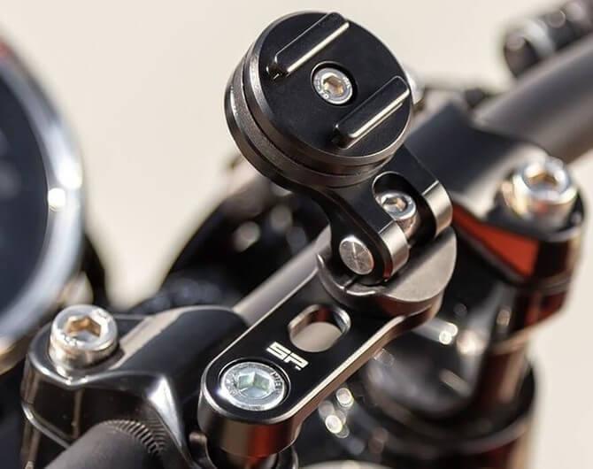 Обзор крепления для мотоцикла SP Connect SP Bar Clamp Mount Pro