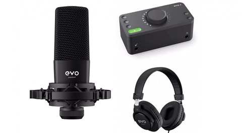 Стартовий комплект для звукозапису Audient EVO Start Recording Bundle
