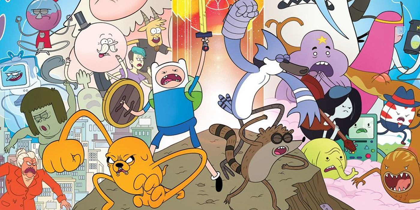 Предзаказы мультсериальных комиксов