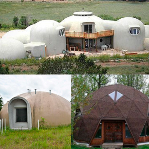 Типы купольных домов