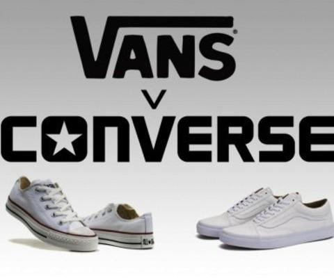 В чем отличия Vans и Converse
