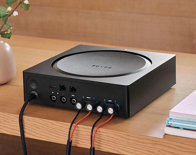 Обзор на звукоусилитель SONOS AMP