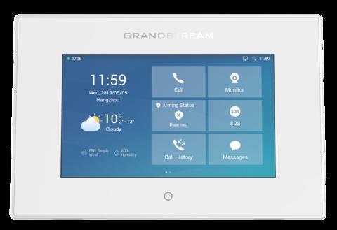 Компания Grandstream пополняет линейку продуктов безопасности новым устройством - GSC3570 - IP домофон с монитором