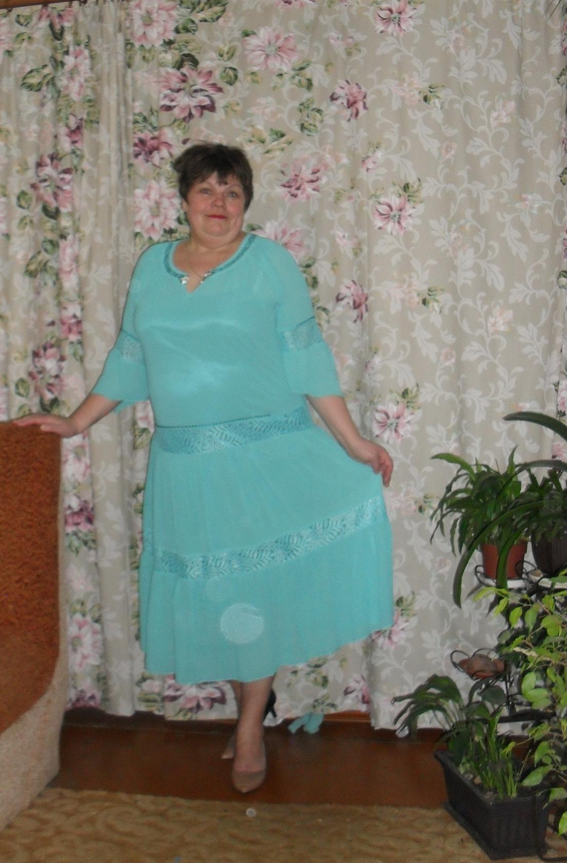 Отзыв о платье 3598