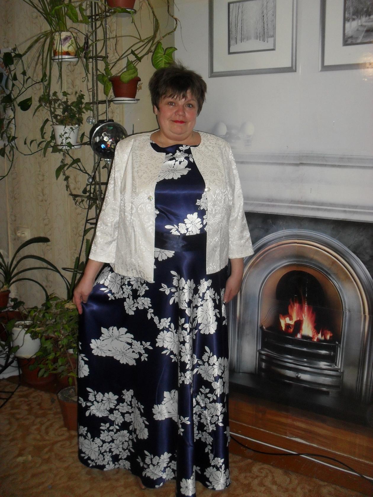 Отзыв о платье 5542 и болеро 3785/1