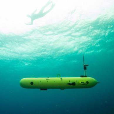 Роботизированная подлодка на охране береговой линии
