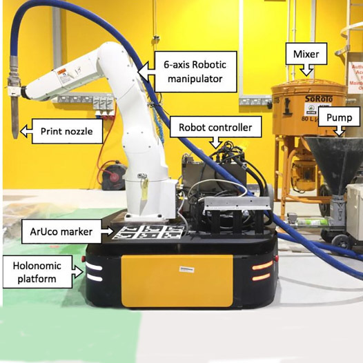 В Сингапуре 3D-принтер напечатал здание