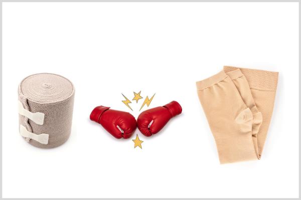Что лучше: компрессионные чулки или бинты? Бескомпромиссное сравнение.