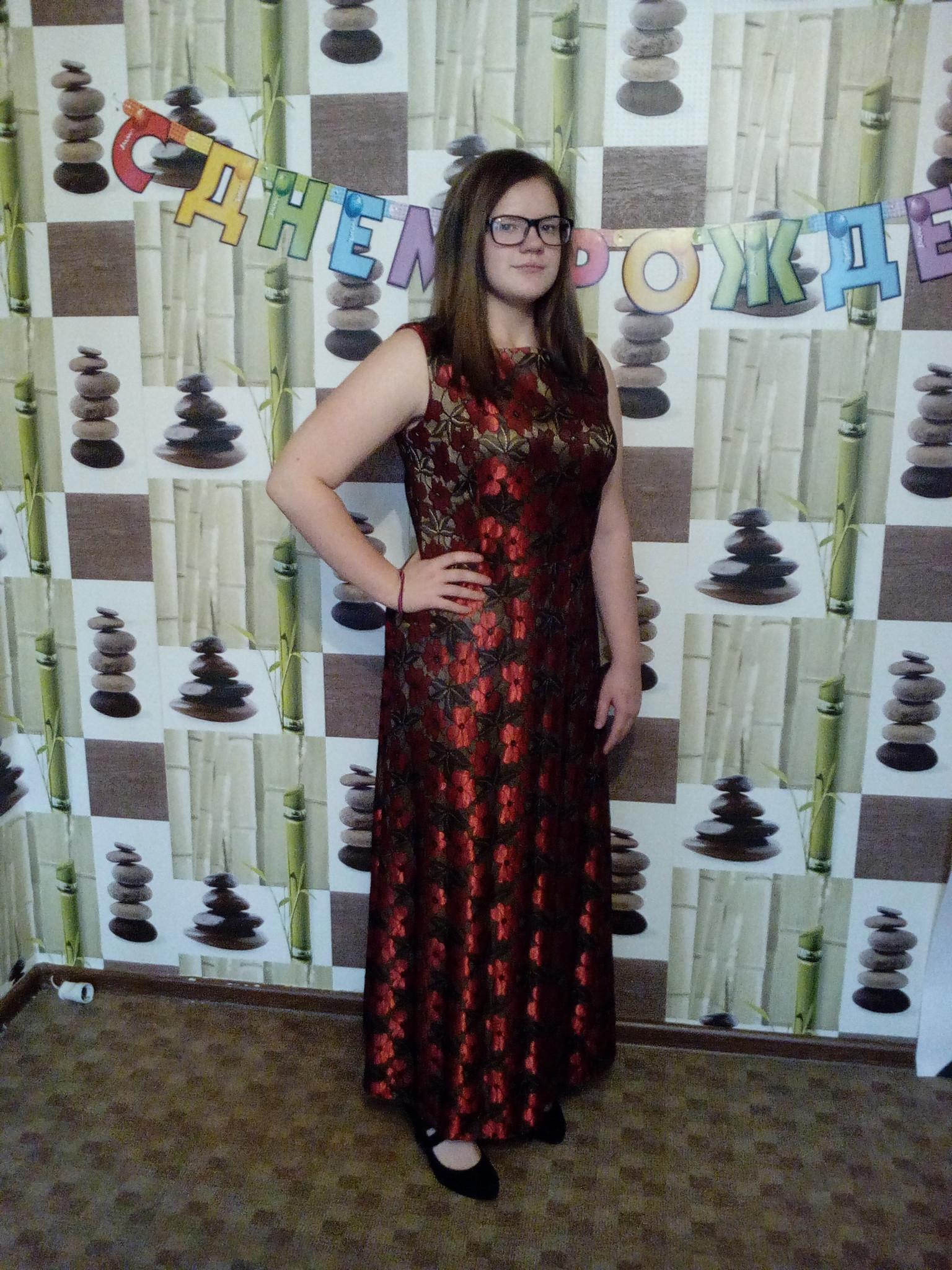 Отзыв о платье (нет на сайте 7)