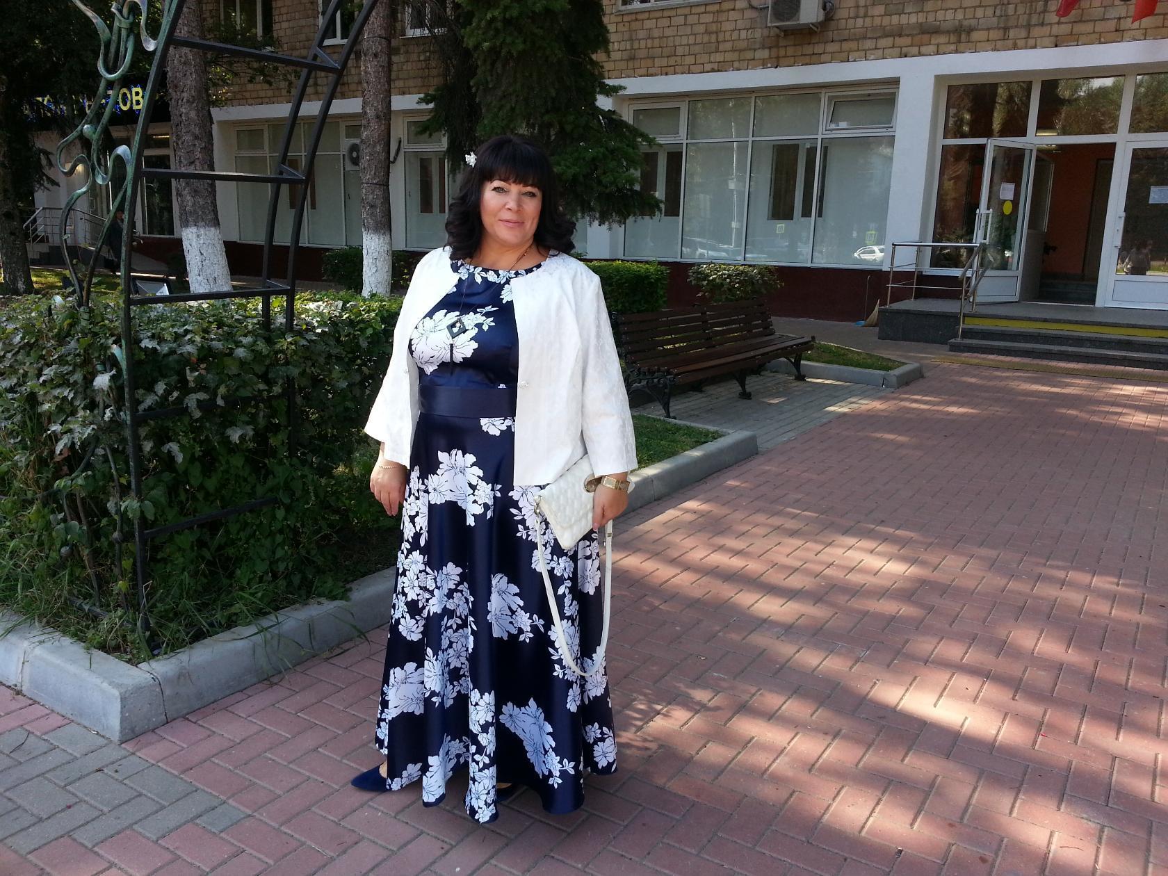 Отзыв о платье 5542 и болеро 3785