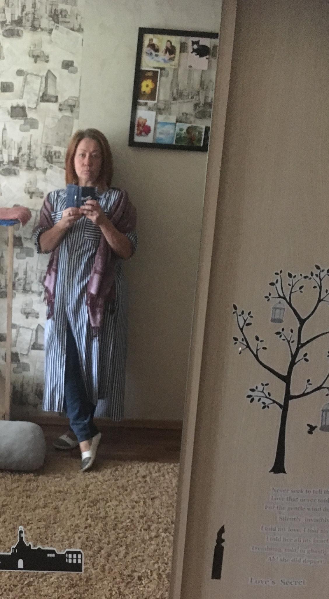Отзыв о платье-рубашке (нет на сайте)