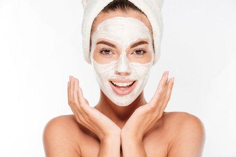 Очищающая маска для лица.