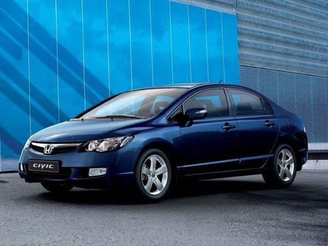 Устранение просевших пружин Honda Civic 4D