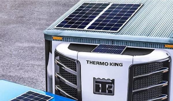 Солнечные панели на рефрижераторах испытала Thermo King